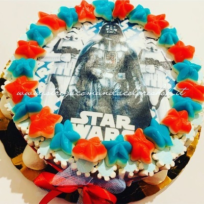 Torta Cartoons Star Wars