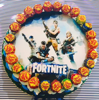 Torta Cartoons Fortinite