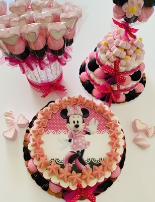 Candy Buffet Minnie Rosa Fucsia